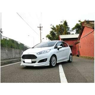 2015年 福特 Fiesta 白   1.0  ✅0頭款 ✅免保人✅低利率✅低月付 FB搜尋:阿源 嚴選二手車/中古車買賣