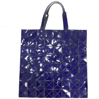 ISSEY MIYAKE  Purplish blue Shoulder Bag 紫藍色 單肩袋 100%真品