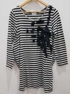 Blouse / Tunik Stripe Gaudi