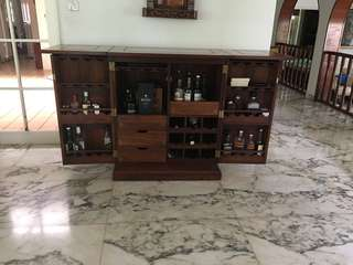 Bar Cabinet rosewood, quick sale