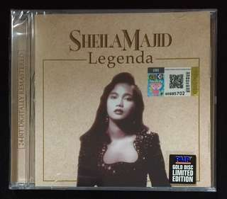 Sheila Majid - Lagenda Limited Edition Gold Disc CD