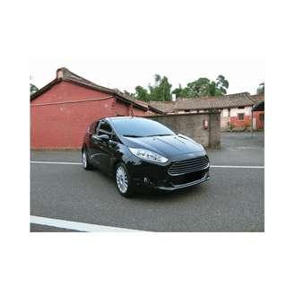 2014年 福特 Fiesta 黑  1.0 ✅0頭款 ✅免保人✅低利率✅低月付 FB搜尋:阿源 嚴選二手車/中古車買賣