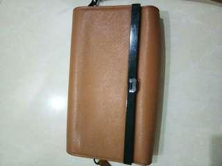 #openbarter tas clutch sling bag CK charles & keith brown