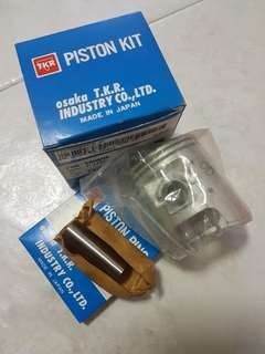 yamaha 125z piston complete set