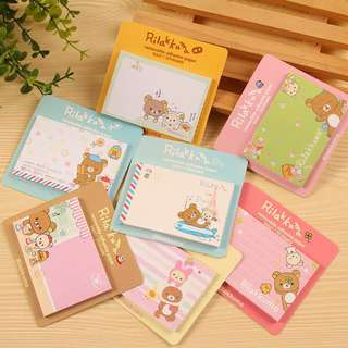 🌟BN INSTOCKS Adorable Rilakkuma Sticky Memo Pads