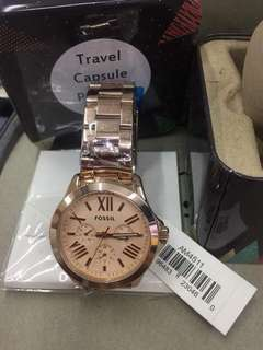 Branded fossil watch
