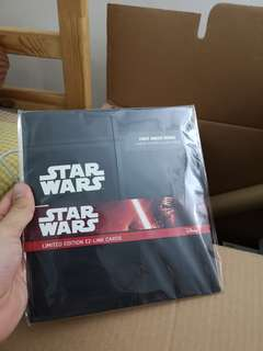 Limited star wars ez liNk card set