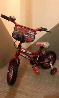 Disney Cars Lightning Mcqueen Kids Bike