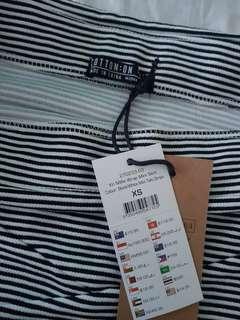 Cotton on mini skirt stripes