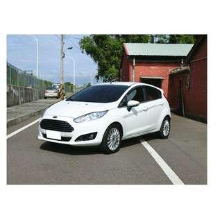 2014年 福特 Fiesta 白  1.5   ✅0頭款 ✅免保人✅低利率✅低月付 FB搜尋:阿源 嚴選二手車/中古車買賣