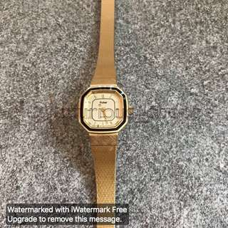 Pulsar Gold Watch