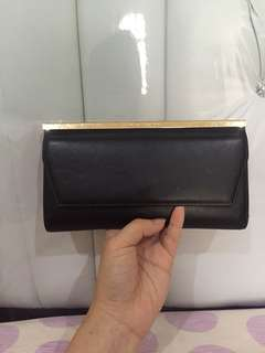 Authentic Charles and Keith Black Wallet
