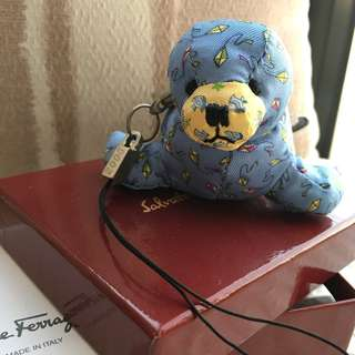 "Salvatore Ferragamo   ""Seal""  bag charm   *** Made in Italy ***"