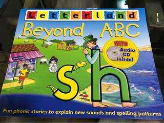 🚚 Letterland Beyond ABC (w CD) & 2 other BN books