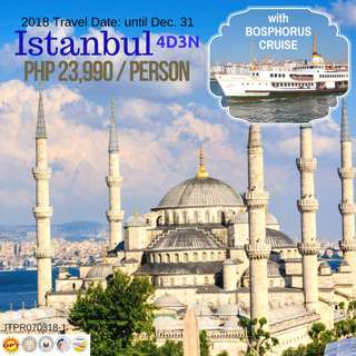 4D3N Istanbul Tour Package