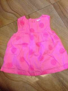Dress neon pink (1 to 2 yrs old)