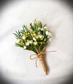 Wedding Flowers, Boutonnieres and corsages
