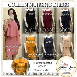 Coleen nursing dress
