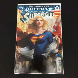 DCU Rebirth Supergirl 15 DC Comics Book Justice League Movie