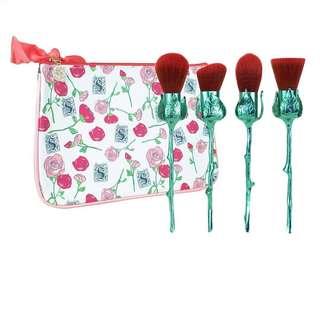 全新Storybook Cosmetics What's in a Name Rose Brushes 玫瑰化妝掃套裝