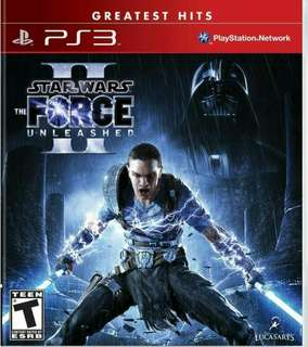PS3 Starwars Force Unleashed II (Star Wars)