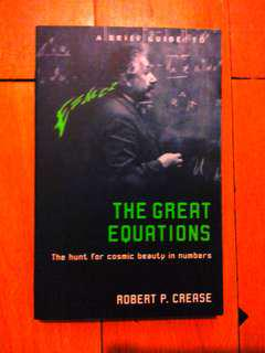 A Field Guide to the Great Equations