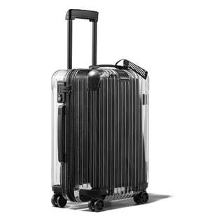 OFF WHITE Rimowa Transparent Carry-On Case Clear