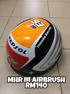 Helmet MHR III Airbrush
