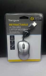 Targus Retractable Ultra Mini Laptop Mouse
