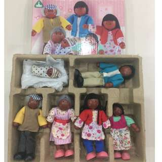 RESERVED💖Wooden dolls
