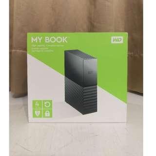 🚚 WD 威騰 My Book 4TB 3.5吋 外接硬碟 (SESN)