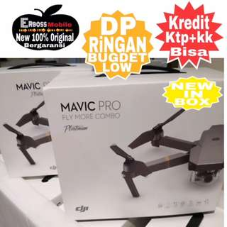 DJI Mavic Pro Platinum Combo Drone New Resmi TAM-Cash/Kredit Call/Wa;081905288895