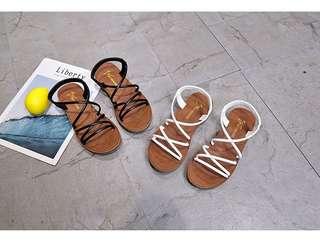 🚚 新款羅馬時尚復古防滑休閒涼鞋 36-40 (共2色)