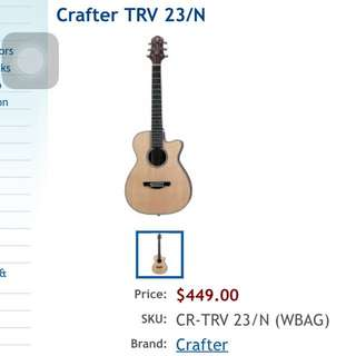 In Brand New Condotion: Crafter TRV 23/N