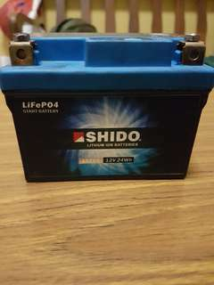Shido LTZ5S, used on honda sp previously for 6 months only, still in good condition.