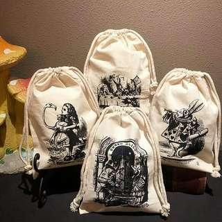 [7月日本代購團] Alice on Wednesday 索繩袋