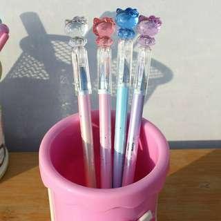 [PRE-ORDER] Hello Kitty Gel Pen Cute Pen 0.38mm Blue Ink