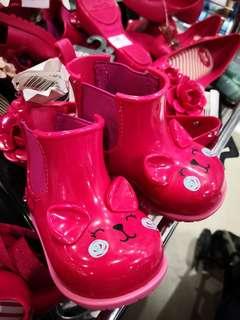 Zaxy Nina Wellie Boots Fuschia Pink (US5) Wellie Boot Fuchsia Pink