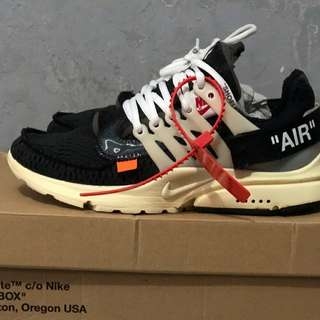 Nike Air Presto Off White Size 7 Us