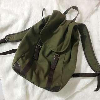 Camou Green Bagpack