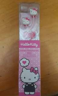 Hello kitty earphone 耳筒