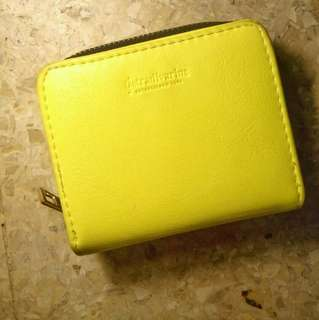 Stradivarius Yellow Wallet ( dompet Stradivarius )