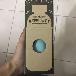 Mason Bottle (PREMIUM GLASS BOTTLE)