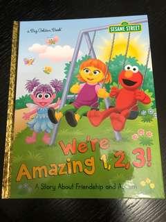 Sesame Street story book