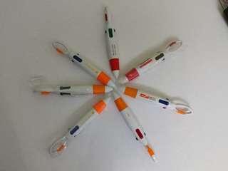 4-color pen 4色铅子筆