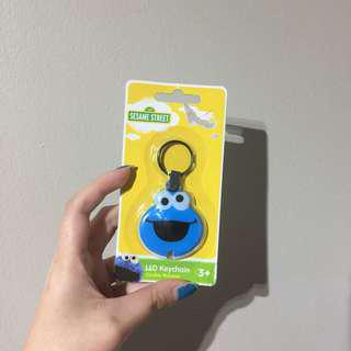 Cookie Monster LED Light Keychain