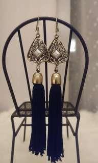 🚚 珍珠流蘇耳環
