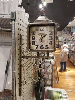 Vintage Double Side Wall Clock