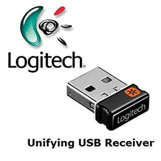 Logitech USB unifying receiver to connect to 6 Logitech Devices!