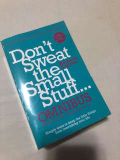 Don't Sweat the Small Stuff - 3 books in 1!!!